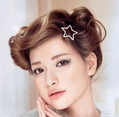 不留刘海的梨花头图片 无刘海梨花头 发型师姐