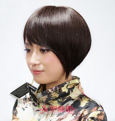 大圆脸适合哪样的头发 大圆脸剪沙宣头发好看吗(3)图片