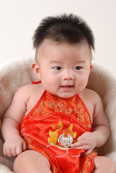 小男孩可爱发型 男宝宝的可爱发型