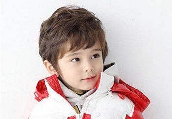 男宝宝烫头造型 最新男宝宝烫发发型图片