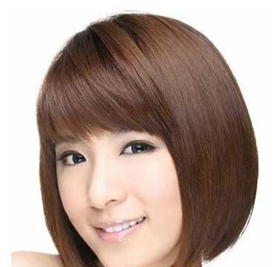 方脸适合的短发发型图片(2)图片