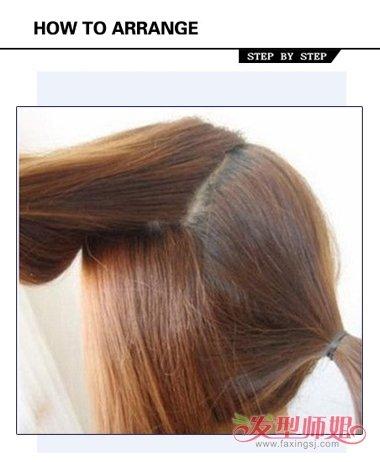 气质马尾发型扎法步骤 初中发型女生马尾辫(2)图片