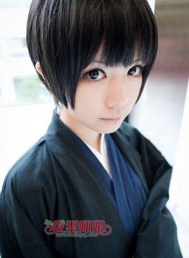 女生蘑菇发型 女学生的蘑菇头发型(3)