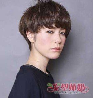 16年蘑菇头短发发型 女生短发蘑菇头发型(3)