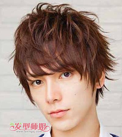 男士烫什么发型好看 男生陶瓷烫发型图片(3)图片