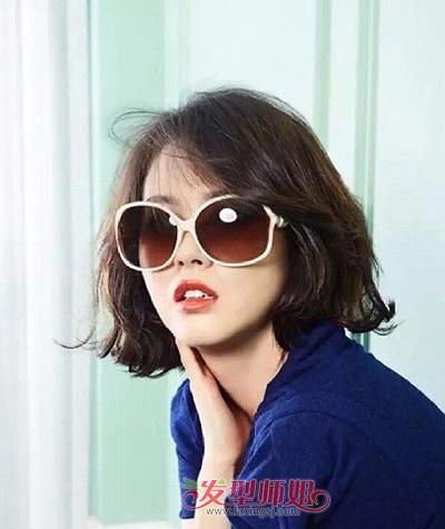 胖人圆脸适合的发型 脸圆的女生剪什么发型好看 时尚圆脸发型女生好看图片
