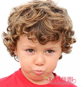 男生圆脸发型大全 男儿童圆脸短发型图片