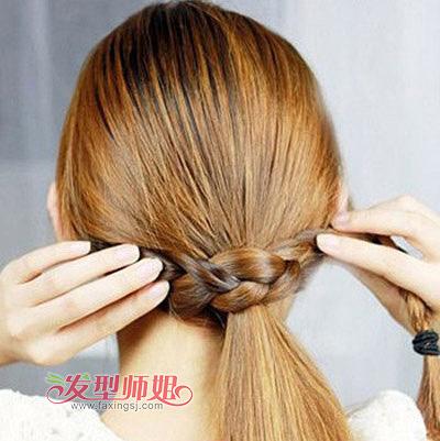 儿童编辫子发型扎法步骤