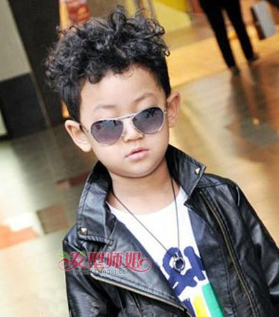 3岁男孩短发发型大全 3岁小男孩个性发型图
