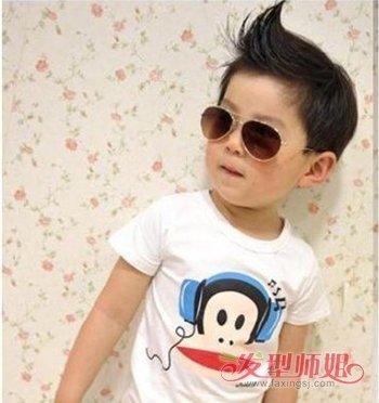 男宝宝超短发型 男宝宝短头发发型图片