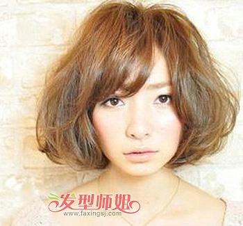 包包头短发图片 包包头短发烫发发型(2)图片