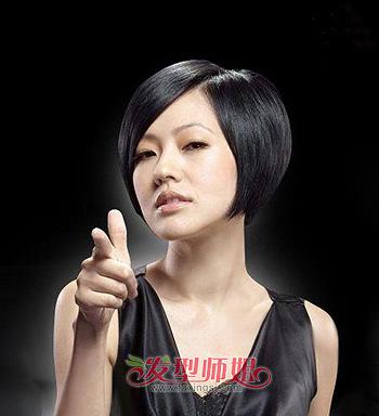 包包头短发图片 包包头短发烫发发型(3)图片
