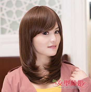 斜刘海沙宣发型_适合方脸的沙宣头都有哪些 2015方脸沙宣头图片_发型师姐