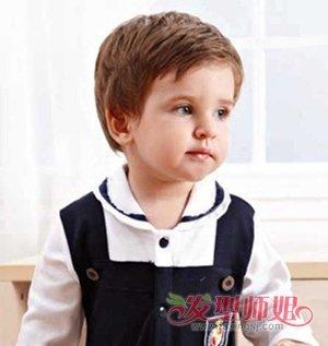 男宝宝有什么发型 男孩发型图片大全(4)