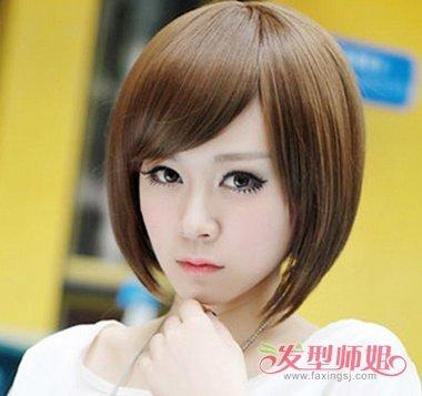 沙宣bobo短发发型图片 时尚沙宣短发发型设计图片