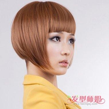obo短发发型图片 时尚沙宣短发发型设计 发型师姐图片