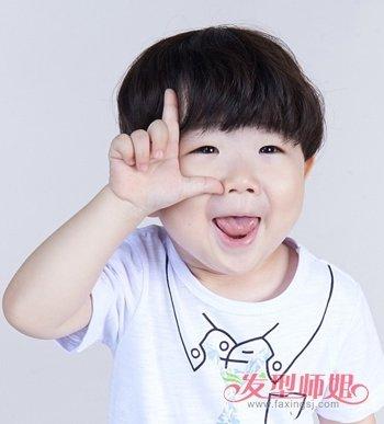 3岁男宝宝发型图片大全图片