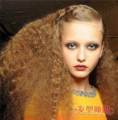 非主流假发爆炸头长发发型 非主流女生爆炸头发型图片