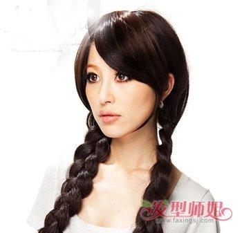 各种带辫子的发型 编辫子的时尚发型图片