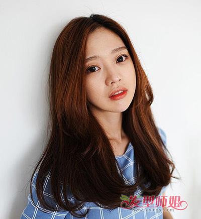 四方脸适合什么刘海 2015方脸女孩适合的刘海发式图片
