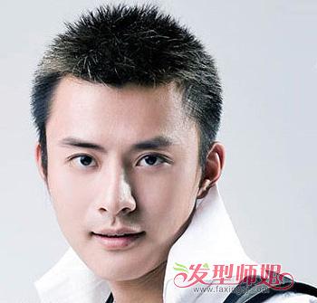 男生清爽寸头发型-男生椭圆脸适合什么发型 椭圆脸男生发型图片