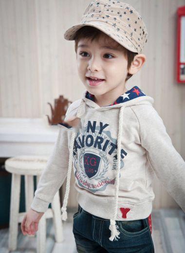 4岁男宝宝发型图片 4岁男童韩国发型图片