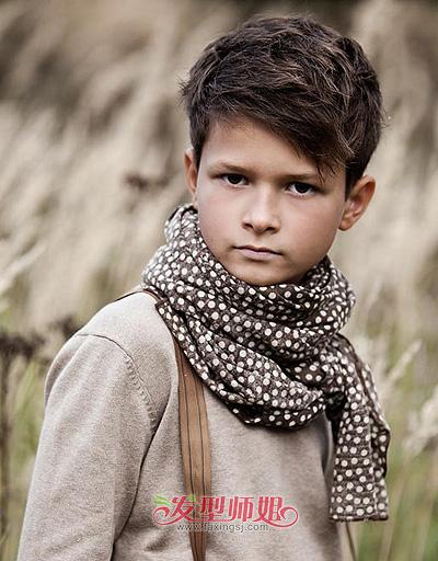6岁男孩潮发型 适合6岁男孩的发型图片 发型师姐