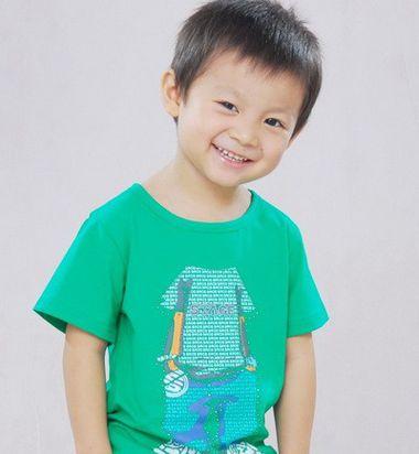 帅气时尚三岁男孩发型 三岁四岁的男孩发型