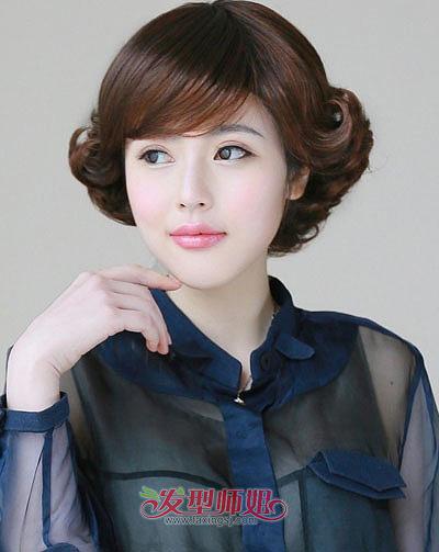老年超短发烫发发型中老年短发短发烫发发型(3)纹身有女性测图图片