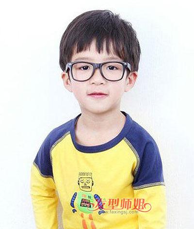 小男孩瓜皮头短发发型-男童头发后面短点怎么设计 小男孩剪怎样头发
