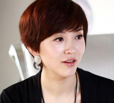 适合中老年妇女的发型 中老年短发发型图片(2)图片
