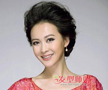 圆脸老年适合什么发型 适合圆脸老年的发型图片(3)图片
