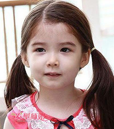 儿童马尾辫编发发型 儿童马尾辫发型设计