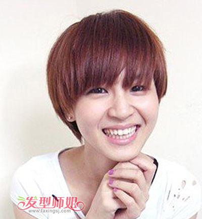 蘑菇头短发女生发型 超短蘑菇头发型图片 发型师姐图片