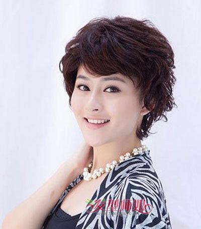 小脸中老年女士适合什么发型 小脸中老年女士发型图片图片