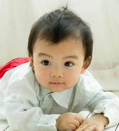十个月男宝宝发型图 当前最流行的短发男宝宝发型图 2