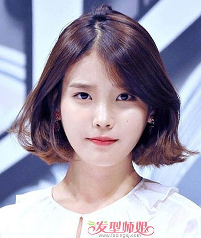 发型脸型 大脸 >> 大脸盘适合什么短发发型图片 好看的适合大脸盘女生图片