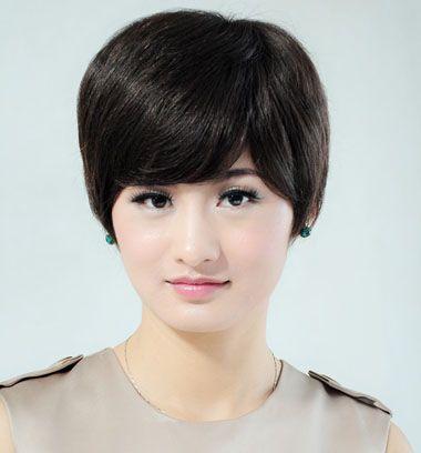 鹅蛋脸适合什么发型女短发发型图片