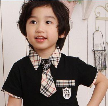 三岁小男孩卷发照片 三岁男孩酷发型(4)