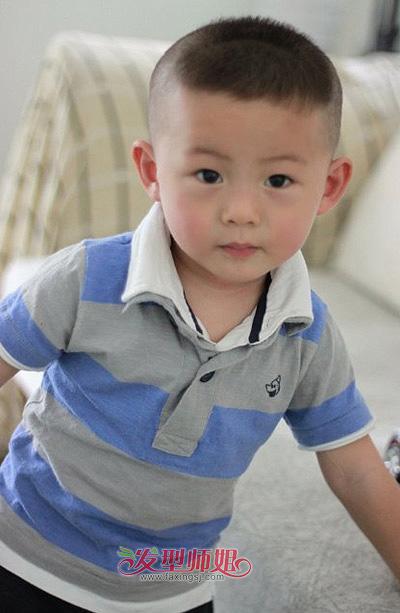 发型设计男孩灰色>>二岁发型造型男童二岁儿童头发发型(3)这款koro图片发型图片