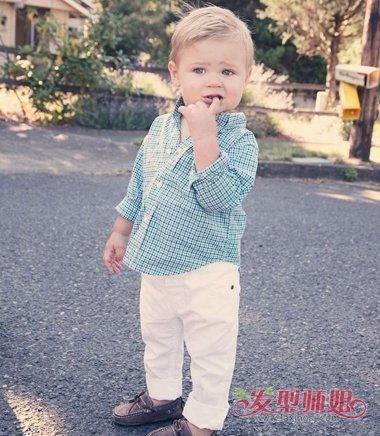 3岁男宝宝留什么头发 3岁儿童男发型设计(3)