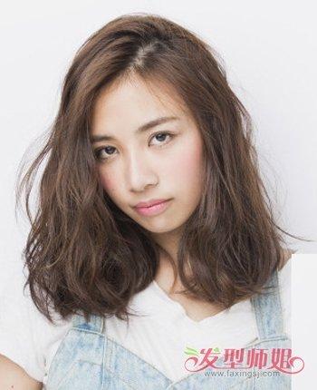 发型脸型 大脸 >> 头大脸大发量少适合什么短发发型 大脸的短发发型图片
