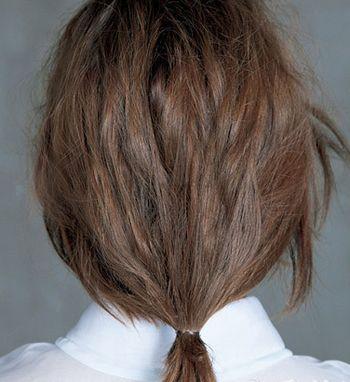方脸怎么样盘头发 四方脸最新盘发步骤图片