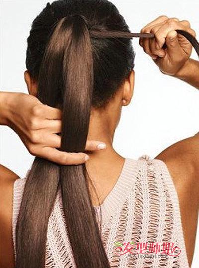 小学生鱼尾辫的编法 鱼尾辫的编法图解 发型师姐