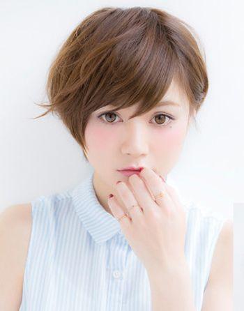 高中女学生最流行的短发发型 高中学生韩式短发发型(4