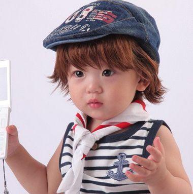 2岁到3岁小孩发型图片 2-3岁男孩子发型(2)图片
