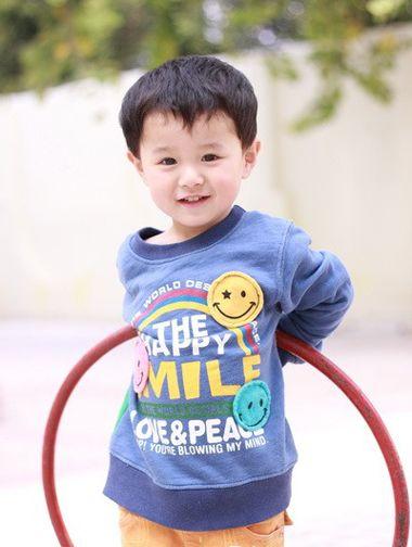 三周歲小男孩的發型 三歲男寶寶發型設計(2)