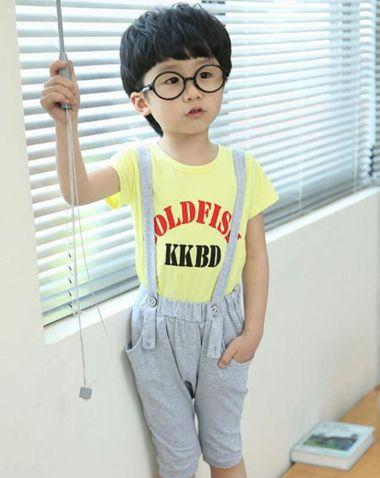 韩式小男童发型图片 当今最流行的男童发型