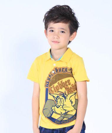 韩式小男童发型图片 当今最流行的男童发型 2