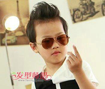 男童发型设计图片 最酷超短男童发型图